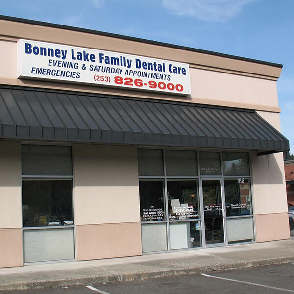 The outside of our Bonney Lake dental office